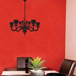 Chandelier Vinyl Wall Decal