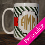 Custom Monogram Coffee Mug