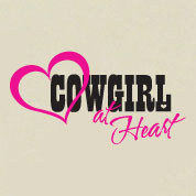 Cowgirl At Heart Wall Decal, Western Vinyl Wall Art, Wall Decor