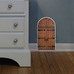 Fairy Door Vinyl Wall Art, Kids Wall Decal