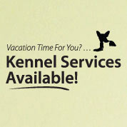 Kennel Services Wall Decal, Veterinarian Wall Decor