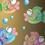 Lisa Fish Full Color Mural Prints
