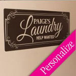 Moms Laundry Custom Wall Decal