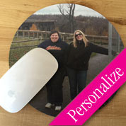Photo Mouse Pad, Personalized Photo Round Mousepad
