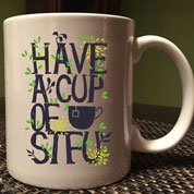 Have a Cup of STFU Coffee Mug