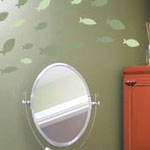 School Of Fish Wall Decal (1 Color)