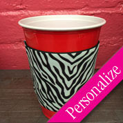 Designer Red Solo Cup Koozie