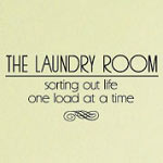 Sorting Out Life Laundry