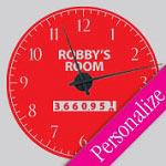 Speed Racing Wall Decal Clock