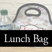 Monogrammed Lunch Bags