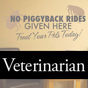 Veterinarian Wall Decals