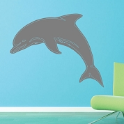 Dolphin Wall Decal, Animal Wall Sticker