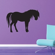 Horse Wall Decal, Animal Wall Sticker