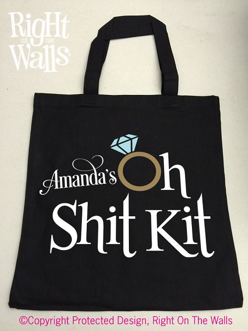 Oh Shit Kit Tote Bag Medium Size