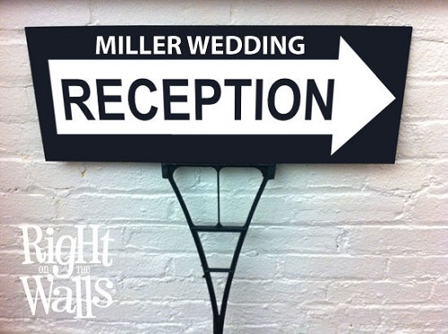 Directional Reception Outdoor Personalized Sign