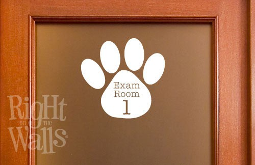Exam Room Paw Print