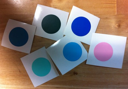 Vinyl Color Samples