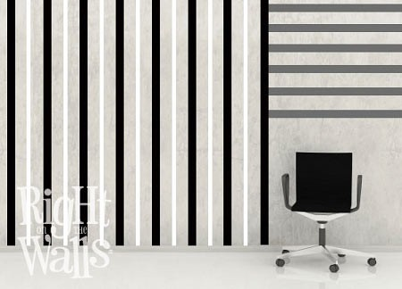 Wall Stripes Wall Decal