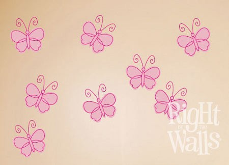 Whimsy Butterflies