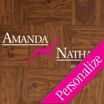 Announcing Personalized Dance Floor Decal, Wedding Dance Floor Sticker