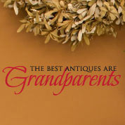 Best Antiques are Grandparents Wall Decal, Vinyl Wall Art, Wall Decor