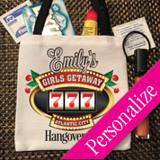 Casino Hangover Party Kit, Party Favor Bags, Vegas Party Favor Ideas
