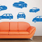 Car Wall Decal Boys Vinyl Wall Art