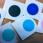 Removable Vinyl Wall Decal Color Samples