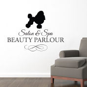 Dog Salon Dog Groomer Wall Decal, Wall Decor