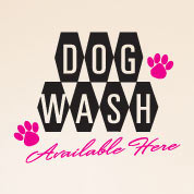 Dog Wash, Dog Groomer Wall Decal, Vinyl Wall Art, Wall Decor