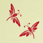 Dragonfly Wall Decal, Animal Vinyl Wall Art