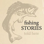 Fishing Stories Manly Wall Decal Man Cave Vinyl Wall Art