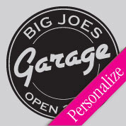 Garage Sign Wall Decal, Man Cave Manly Custom Vinyl Wall Art