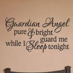 Guardian Angel Kids Wall Decal Vinyl Wall Art