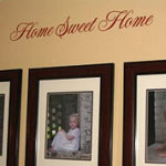 Home Sweet Home Family Wall Decal
