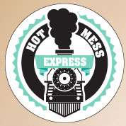 Custom Bachelorette Hot Mess Labels, Hot Mess Express Stickers, Bachelorette Party Favors