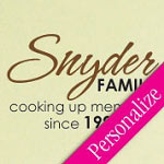 Family Memories Custom Kitchen Wall Decal