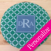 Large Glass Cutting Board Round