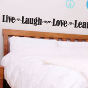 Live Laugh Love Learn, Teacher Wall Decal