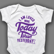 I Am Loved Onesie or T-shirt