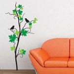 Maple Tree Wall Decal, Vinyl Wall Art