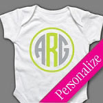 Monogram Baby Onesie or T-shirt