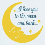 To The Moon Kids Wall Decal Vinyl Wall Art