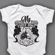 My First Bike Onesie or T-shirt
