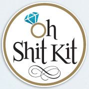 Oh Shit Kit Bachelorette Labels, Bachelorette Party Favors, Custom Stickers