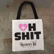Oh Shit Kit Hangover Mini Tote Bag