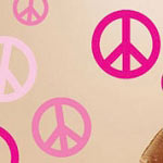 Peace Sign Wall Decal, Vinyl Wall Art