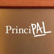 PrinciPAL Wall Decal, School Door Decal