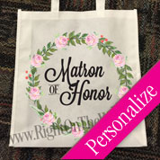 Wedding Large Tote Bag Roses