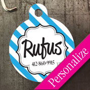 Custom Round Pet ID Tag